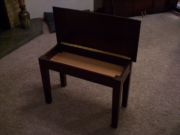 Wooden piano bench plans woodworking pdf